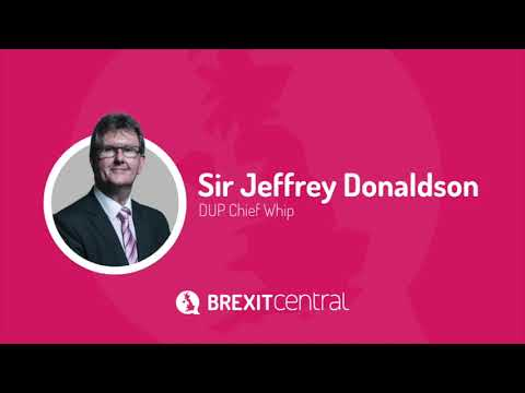 Sir Jeffrey Donaldson MP on the Today Programme, 07/11/2018