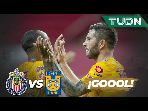 ¡Gol de Tigres! Gignac hace el primer gol del partido | Chivas 0 - 1 Tigres | Copa por México | TUDN