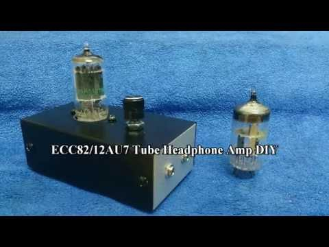 ECC82/12AU7 Tube Headphone Amp DIY