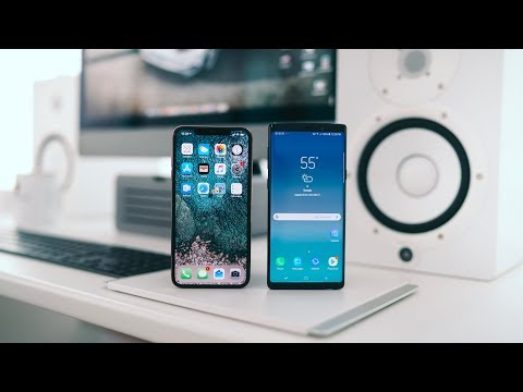 iPhone XS Max vs Galaxy Note 9 - Best of the Premium Phones?