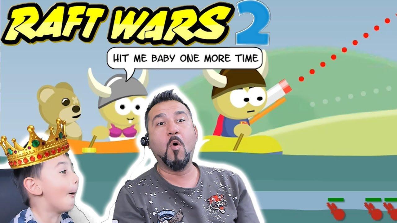 BEN BU OYUNUN KRALIYIM DEDİ! | SAL SAVAŞLARI 2 (RAFT WARS 2)