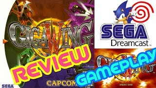 ** Giga Wing ** Dreamcast, Review - Unboxing - Gameplay