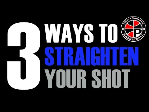 Why Is Your Shoot Not Straight? | Let's Fix It | Pro Training Basketball