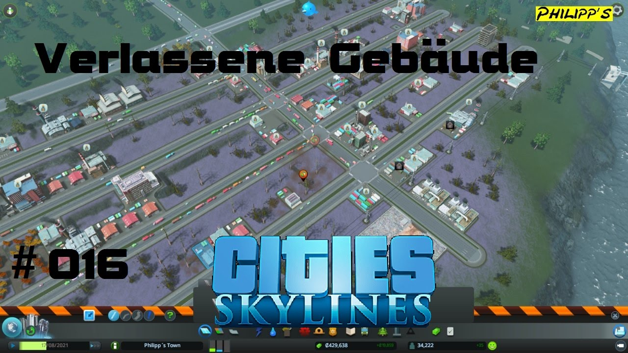 Verlassene Gebäude Cities Skylines 016 Lets Play Hd Youtube