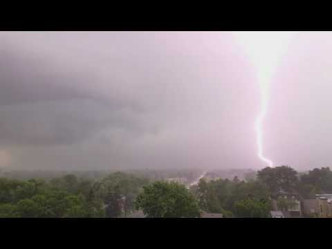 NorthYork ON. June 17  thunderstorms
