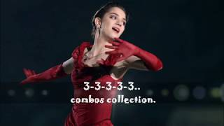 Evgenia Medvedeva 3-3-3-3.. Collection.