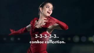 Evgenia Medvedeva 3-3-3-3.. Collection.