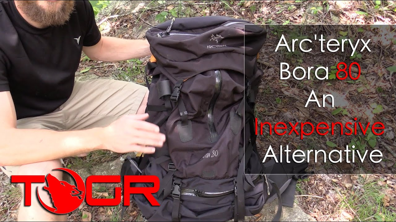 063701c2c30 Inexpensive Backpack Option - Arc'teryx Bora 80 Backpack - YouTube