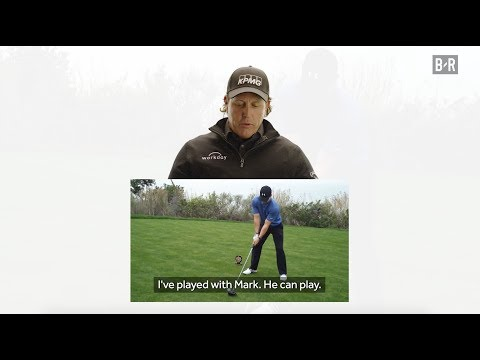 Phil Mickelson Gives Mark Wahlberg Golf Advice and Sends Him a New Driver