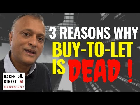 3 Reasons Why Buy To Let Is Dead (and No Longer Viable)