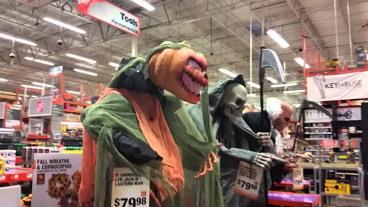 Home depot halloween 2015 youtube for R home depot