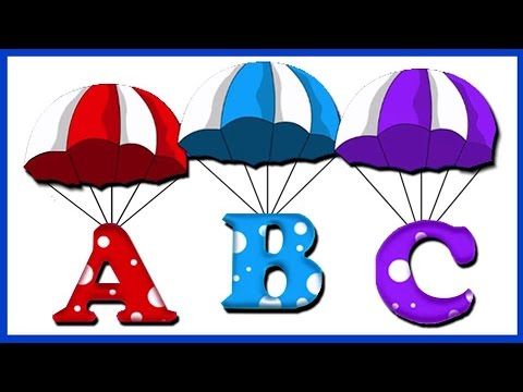 La Chanson De L'Alphabet | French Alphabet Pronunciation | ABC Song In French | Comptines Francaises