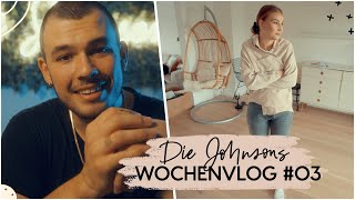 Es wird leer in der Bude + Die Johnsons LIVESTREAM? | Die Johnsons VLOG #3 | AnaJohnson