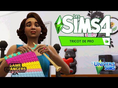 LES SIMS 4: TRICOT DE PRO - LE GAMEPLAY