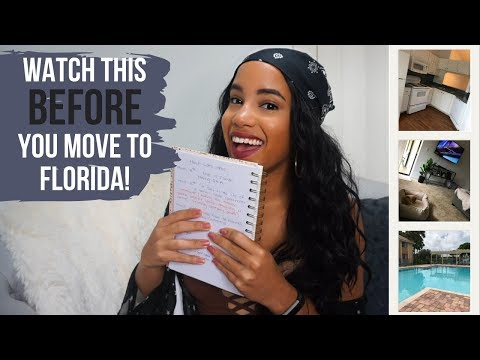 South Florida cost of living, How much I spent & MORE! |NYC to FL Q & A
