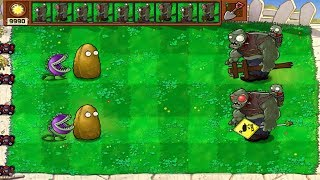Plants vs Zombies - Gargantuar Imp  and  Giga-gargantuar  Imp  HP test