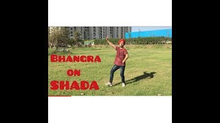 bhangra on shada by gbm parmish verma