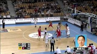 日本vsレバノン-2011FIBAアジア男子-5~8位順位決定戦