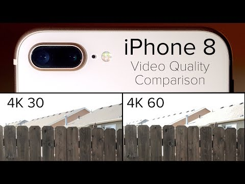 4K Comparison on iPhone 8 - Worse Quality with 4K 60?!