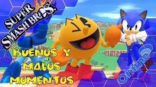 Buenos y malos momentos | Super Smash Bros Wii U | Mini Online