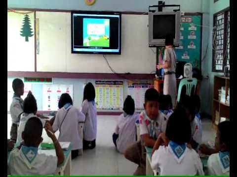 VDO การสอน EIS วิชาภาษาไทย ป 3 เรื่อง สระ ใ
