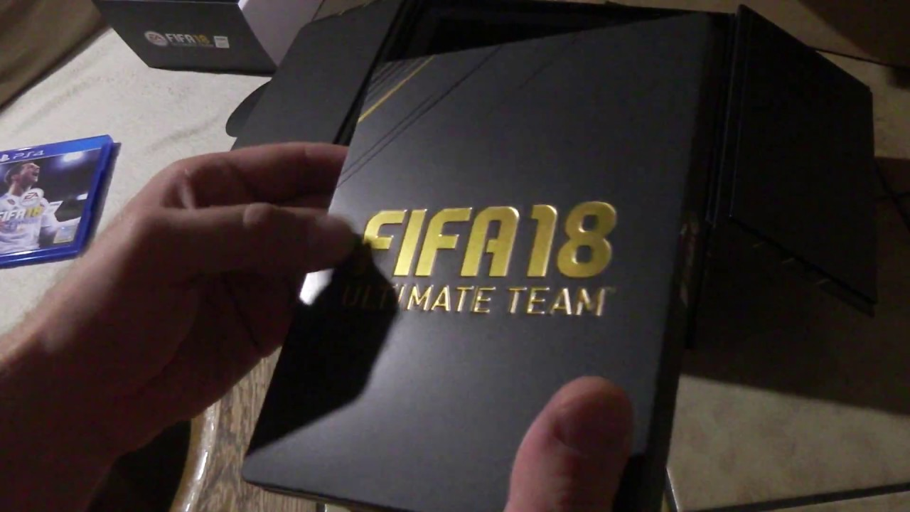 FIFA 18 Limited Fan Edition unboxing PS4 Deutsch