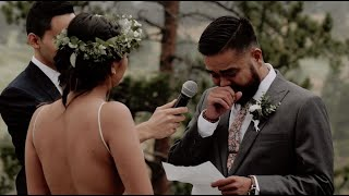 This Groom Can't Get Through His Vows Without Crying | Olena Films