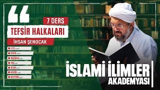 Tefsir - 175 - İnşirâh Sûresİ (1-8) - İhsan Şenocak
