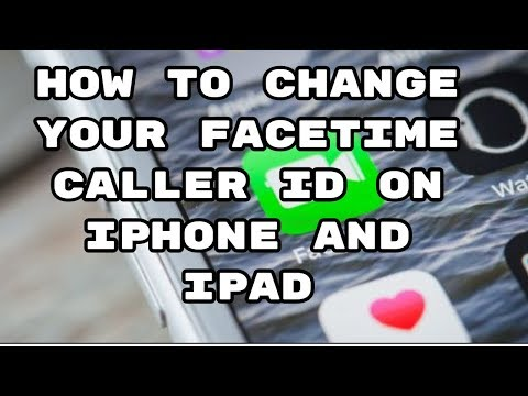 How to change apple id for facetime on ipad