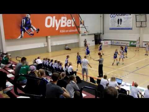 Baltic cup: EST WU14 - FIN WU14, 17.6.2016 Audentes Sports Centre, Estonia