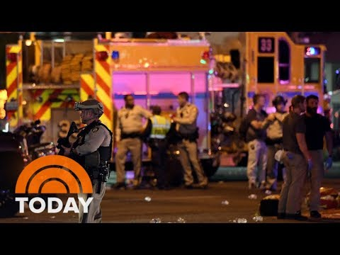 Las Vegas Shooting Witness: 'I Saw Guys Plugging Bullet Holes With Their Fingers' | TODAY