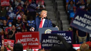 Thousands of empty seats at Trump's comeback rally in Tulsa, From YouTubeVideos