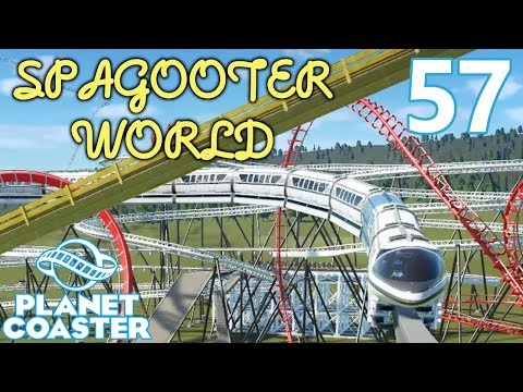 Planet Coaster SPAGOOTER WORLD - Part 57 - MONORAIL! |