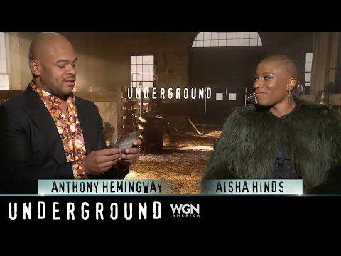 """Ask Underground: Aisha Hinds and Anthony Hemingway """"Books"""""""