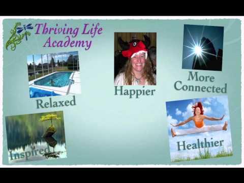 Thriving Life Academy website intro