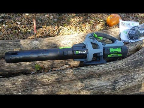 Ego 56v 142 mph 575 cfm  Leaf Blower Review (LB5750)