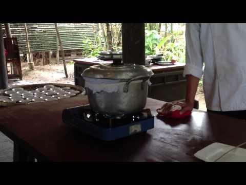 Как приготовить свежую рисовую бумагу