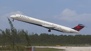 DELTA: Reverser Problems | MD-80 | N907DE | Nassau,Bahamas