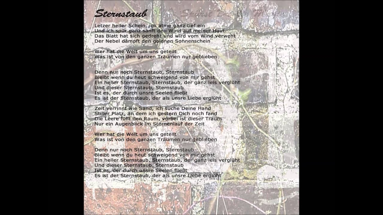 Sternstaub - YouTube