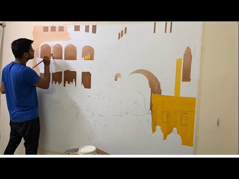 """""""Amritsar"""" Oil Painting Time-lapse"""