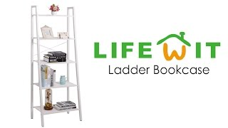 How To Build The Lifewit Ladder Bookcase