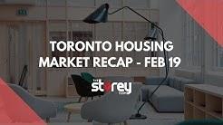 Toronto Housing Market Update - February 2019