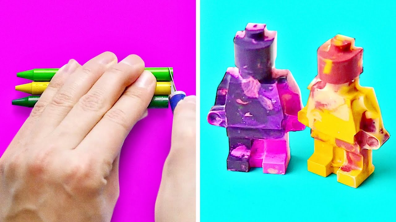 10 BRILLIANT NEW WAYS TO USE CRAYONS