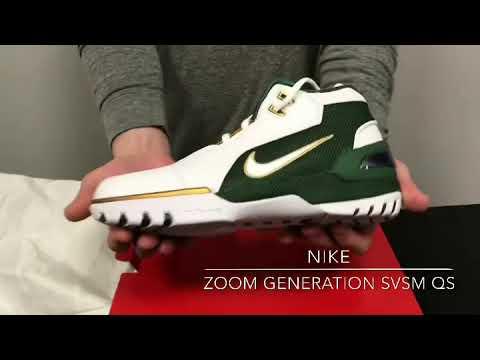 5fd2e9120262f BX Sports NIKE ZOOM GENERATION SVSM QS UnBoxing - YouTube