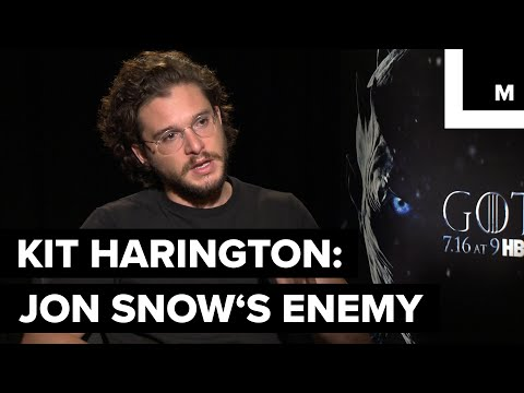 Jon Snow and Littlefinger Petyr Baelish on 'Game of Thrones'