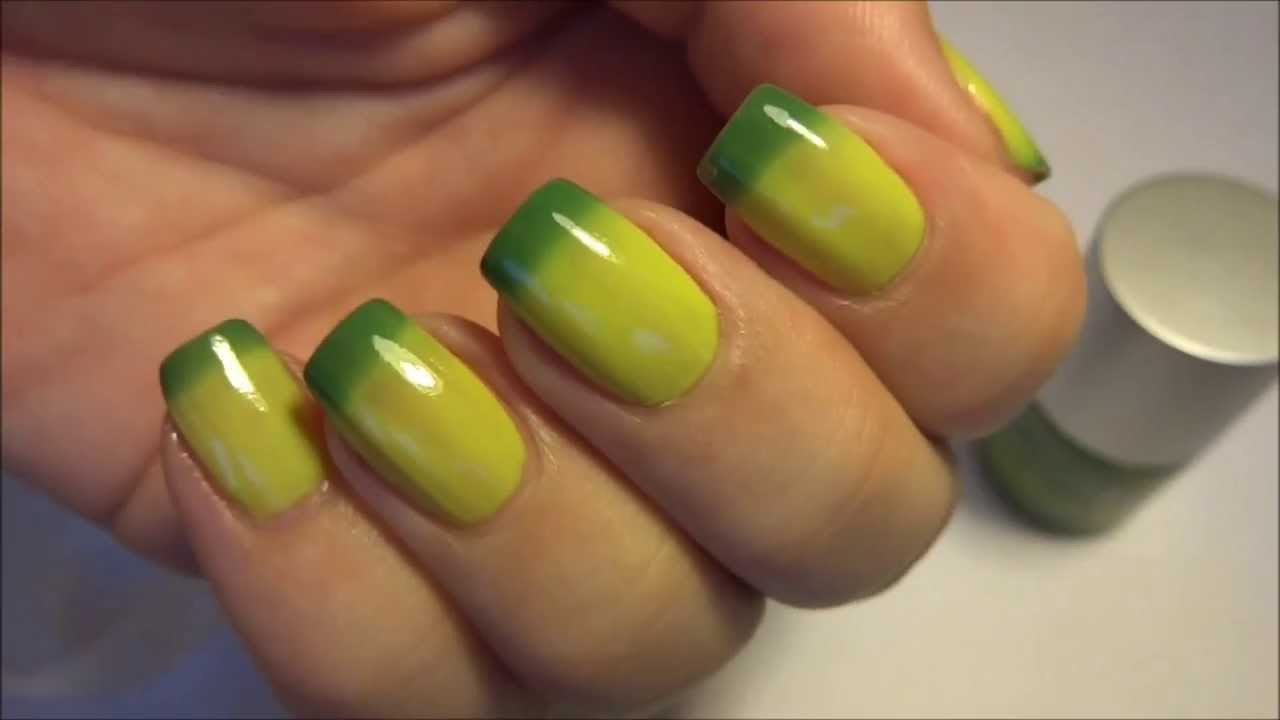 Born Pretty Store Magic Green Yellow Color Changing Nail Polish