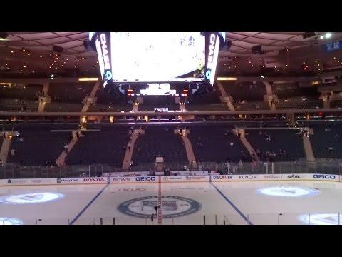 Madison Square Garden - New York Rangers - 2014
