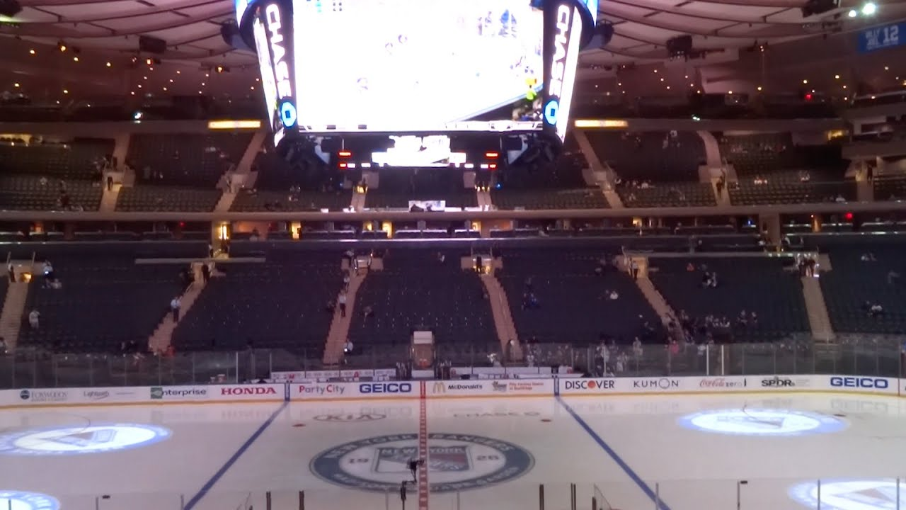 Madison Square Garden New York Rangers 2014 Youtube