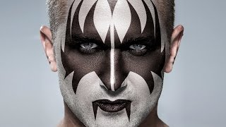 Photoshop Tutorial: KISS!  How to Apply Gene Simmons