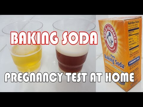 baking soda pregnancy test negative pictures
